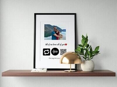 Playable song prints