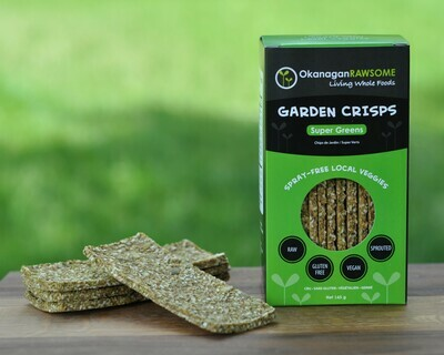 Garden Crisps, Super-Greens (145g)