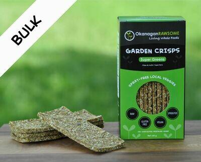 Garden Crisps, Super-Greens BULK (2 x 145g sealed bags)