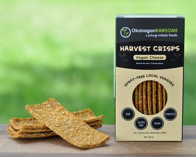 HARVEST CRISPS, Vegan Cheddar Cheeze *NEW* (145g)