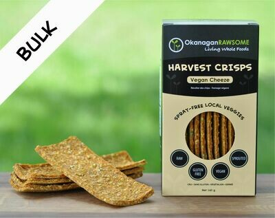 HARVEST CRISPS, Vegan Cheddar Cheeze *NEW* BULK (2 x 145g sealed bags)