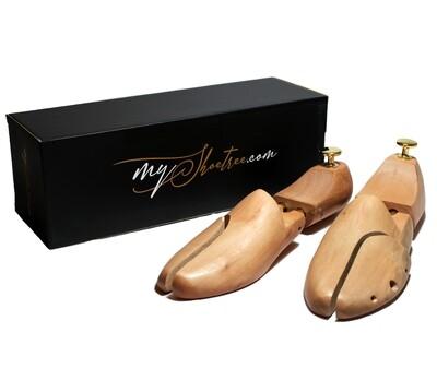 Schima wood shoe tree for man shoes