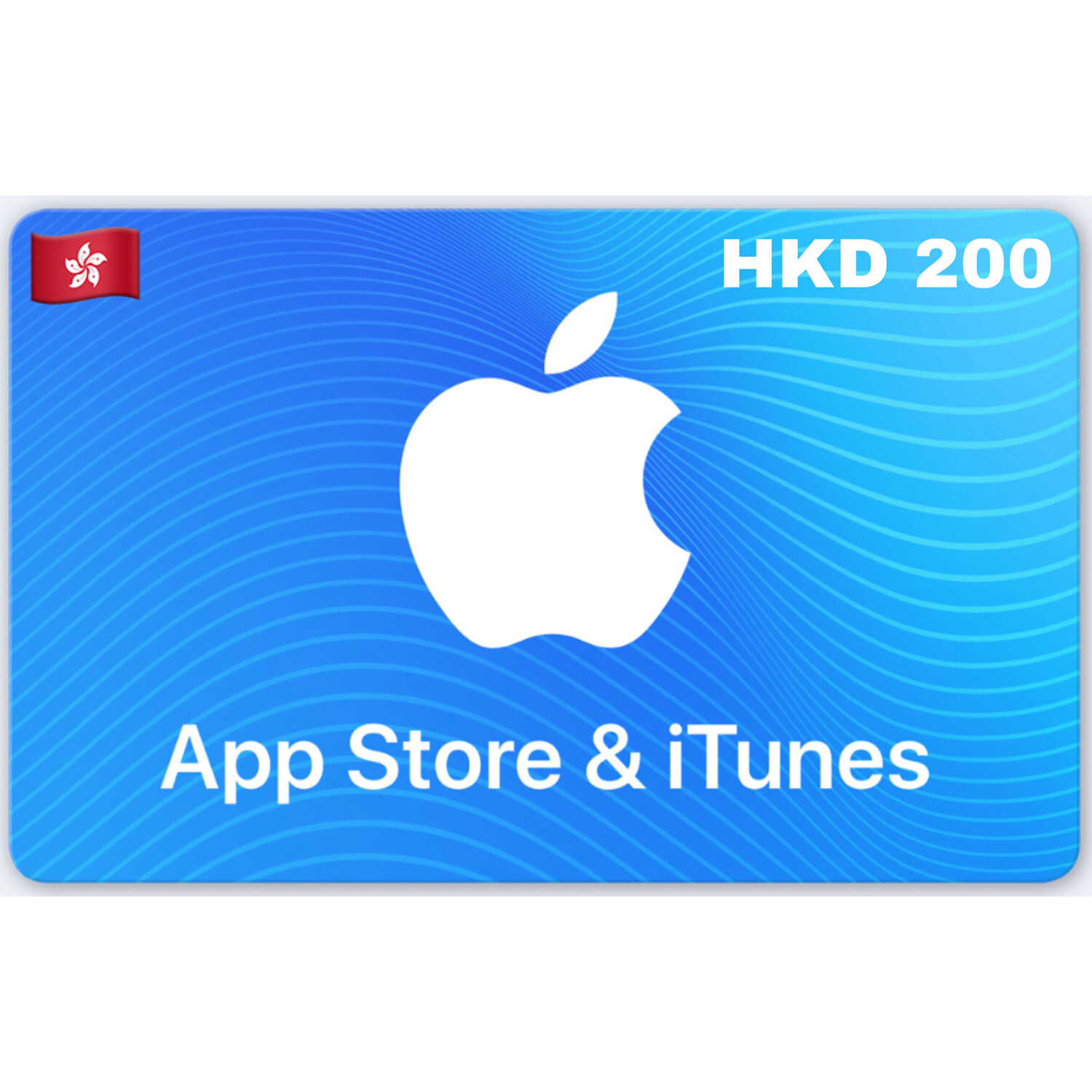 Apple iTunes Gift Card Hongkong HKD 200