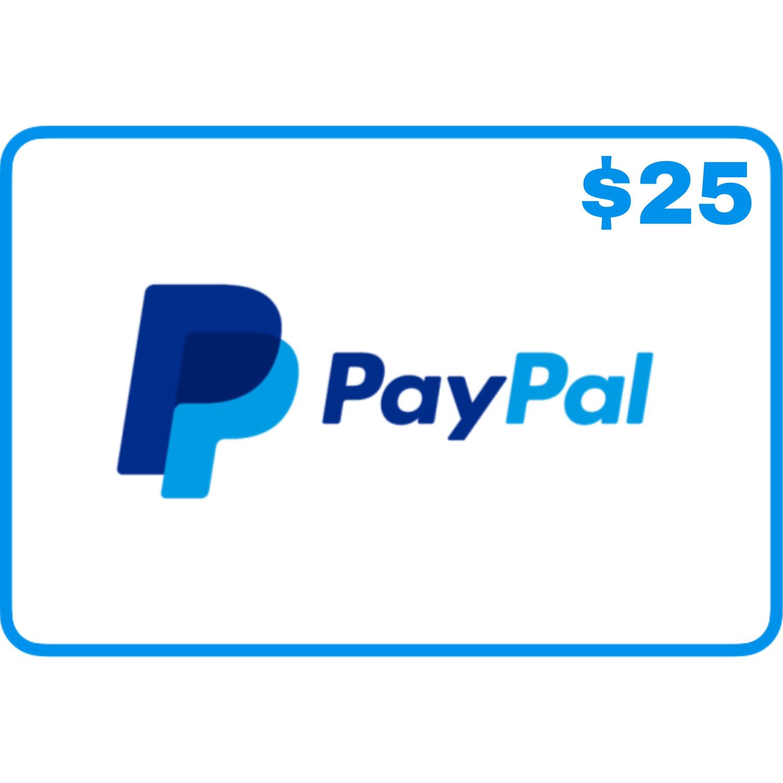 Jasa isi saldo Paypal $25