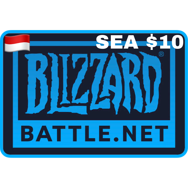 Battle.net Gift Card SEA $10 Blizzard Balance Code