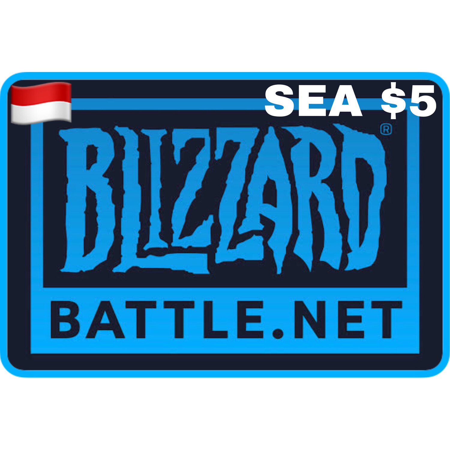 Battle.net Gift Card SEA $5 Blizzard Balance Code