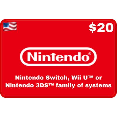 Nintendo eShop US USD $20