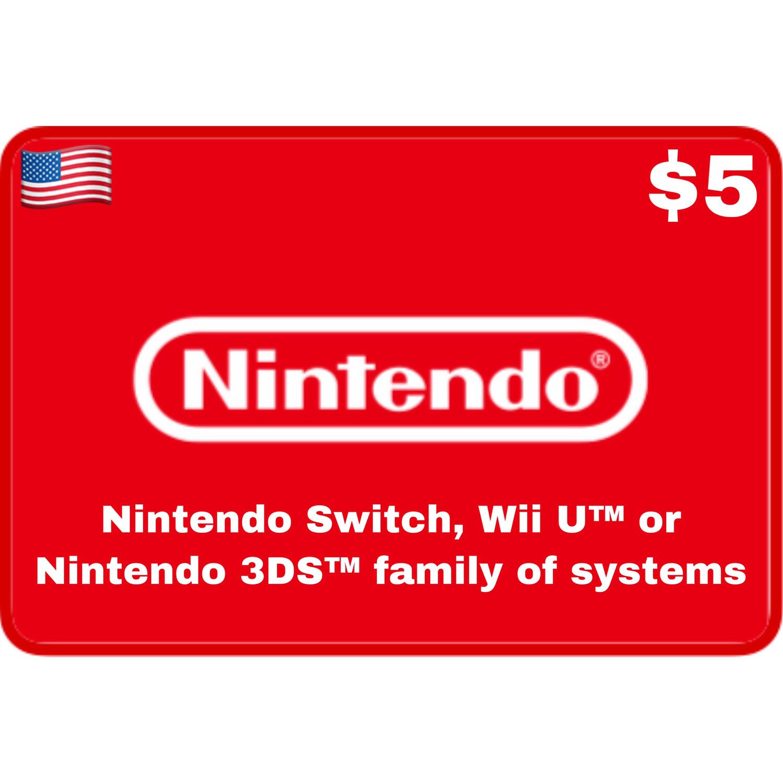 Nintendo eShop US USD $5
