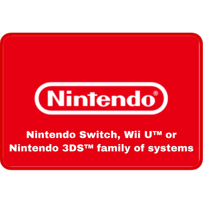 Nintendo Gift Card