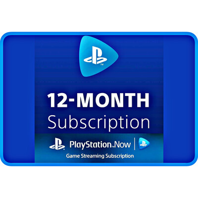Playstation Now (PSN Now) USA 12 Months Subscription