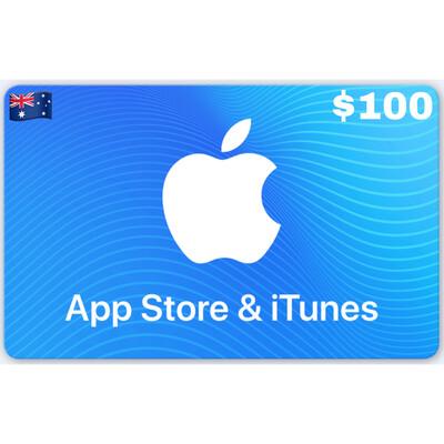 Apple iTunes Gift Card Australia AUD $100