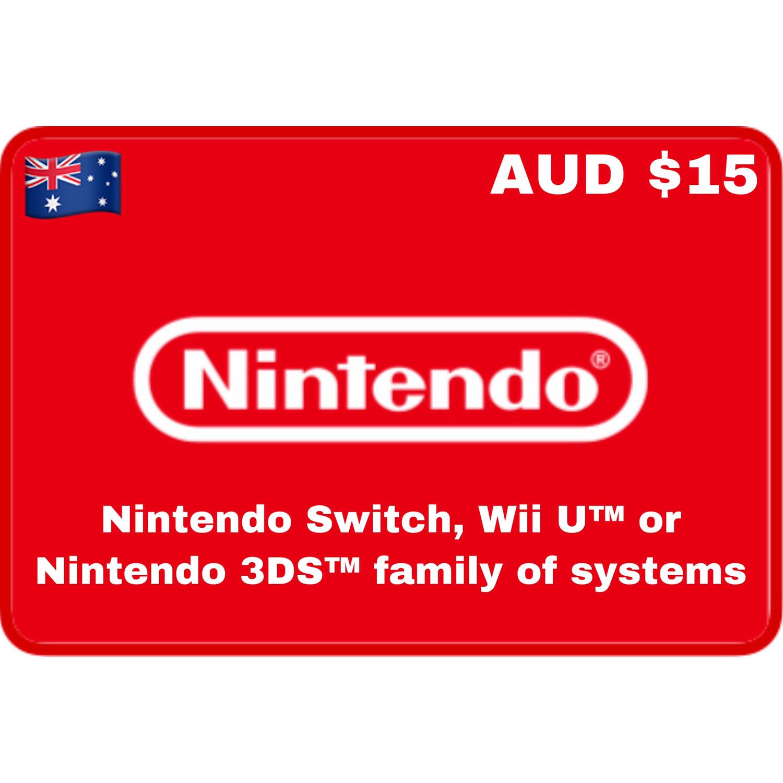 Nintendo eShop Australia AUD $15