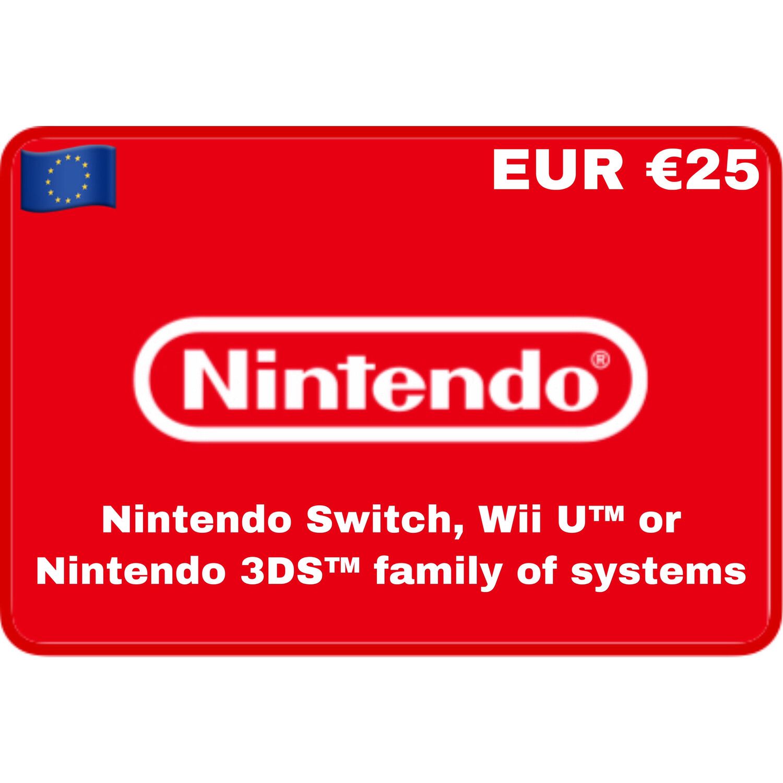 Nintendo eShop Europe EUR €25