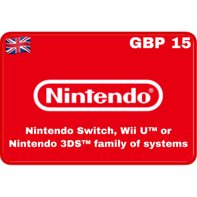 Nintendo eShop UK GBP £15