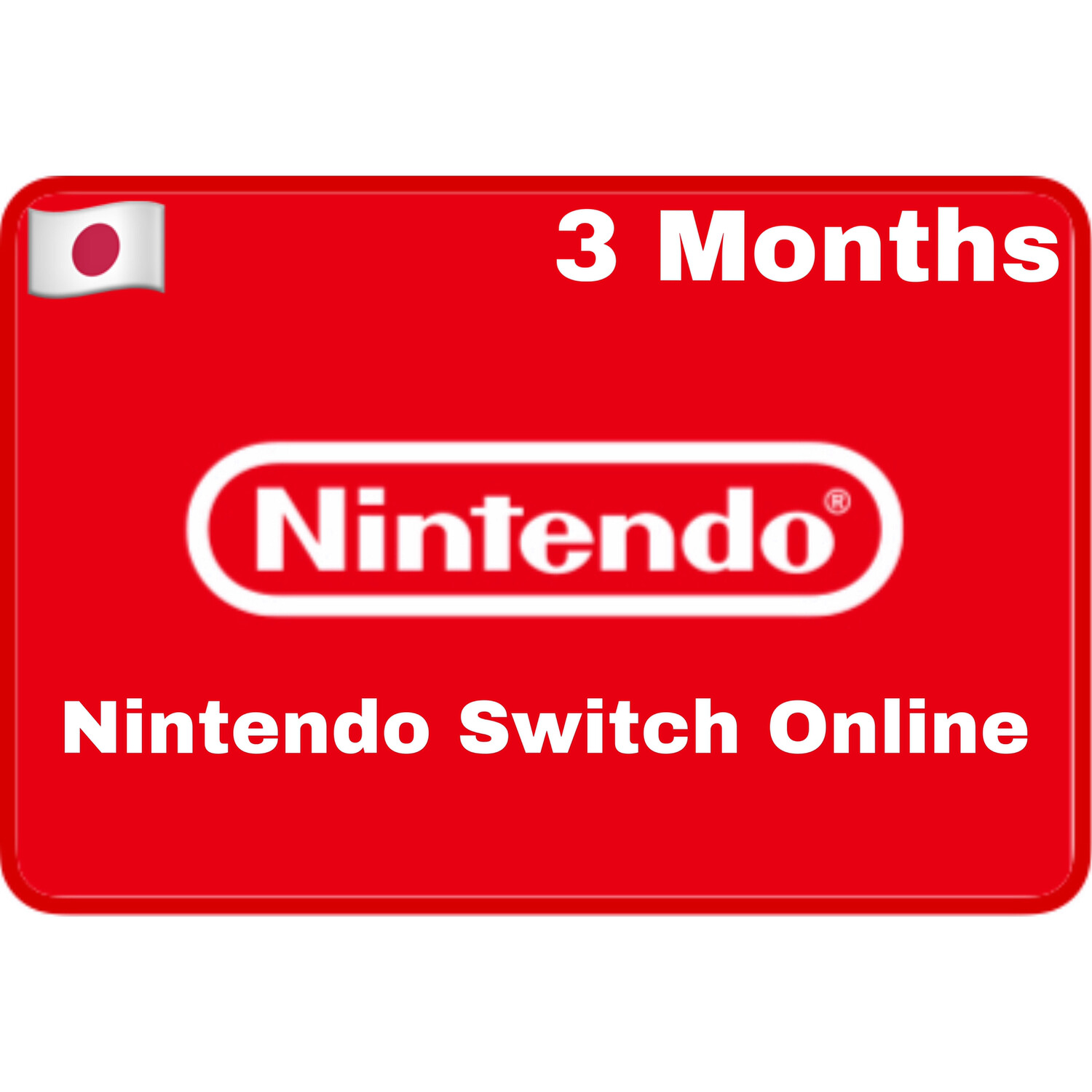 Nintendo Switch Online 3 Months Japan Individual Membership