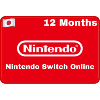 Nintendo Switch Online 12 Months Japan Individual Membership