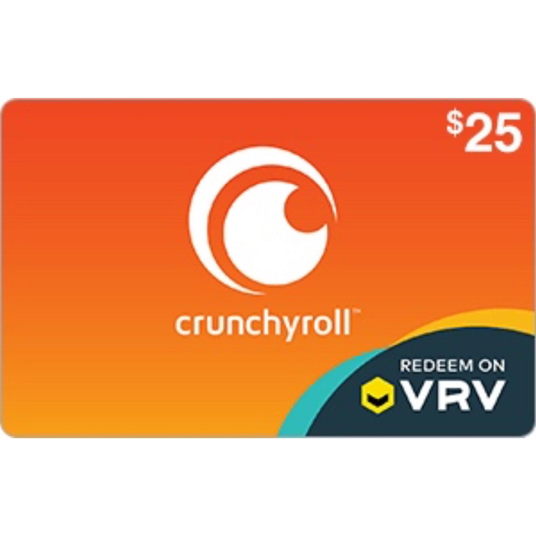 Crunchyroll Gift Card $25