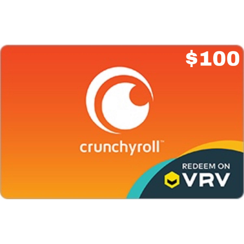 Crunchyroll Gift Card $100
