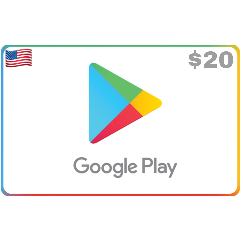 Google Play US USD $20