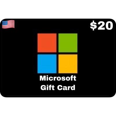 Microsoft Gift Card US $20