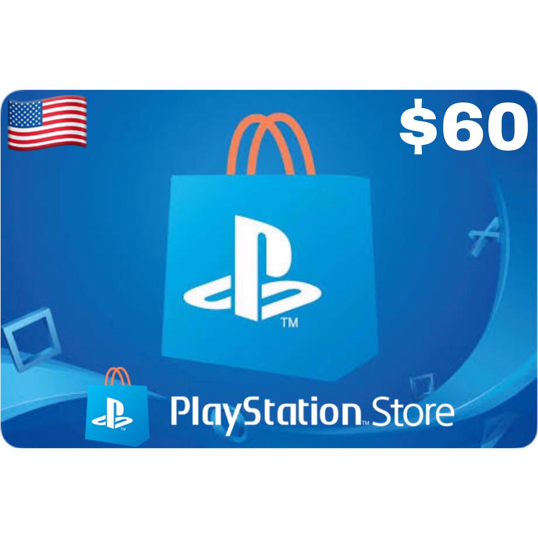 Playstation (PSN Card) USA $60
