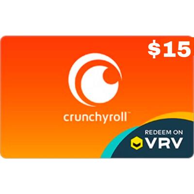 Crunchyroll Gift Card $15