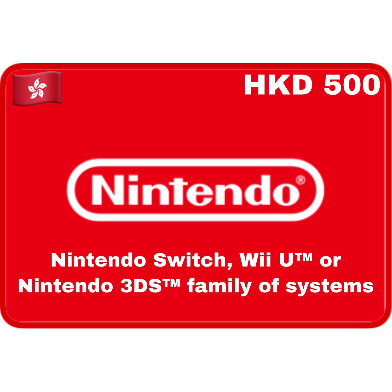 Nintendo eShop Hongkong HKD 500