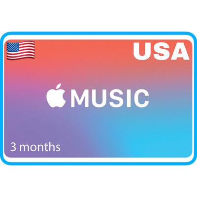 Apple Music 3 months Membership US Gift Card