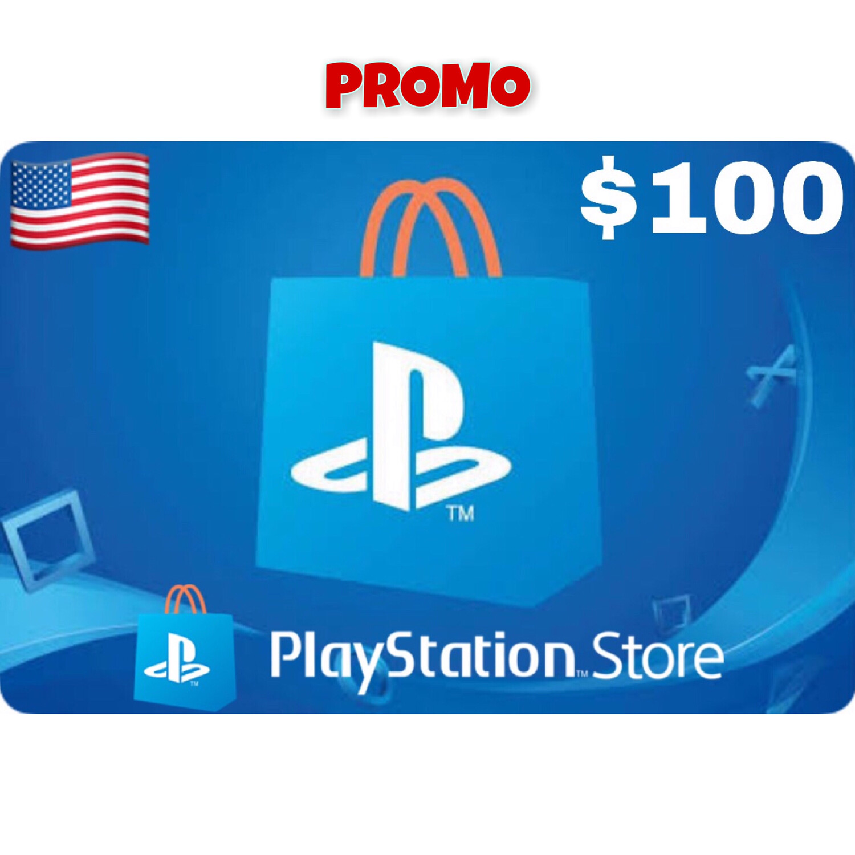 Promo Playstation (PSN Card) USA $100 (Web Order Only)