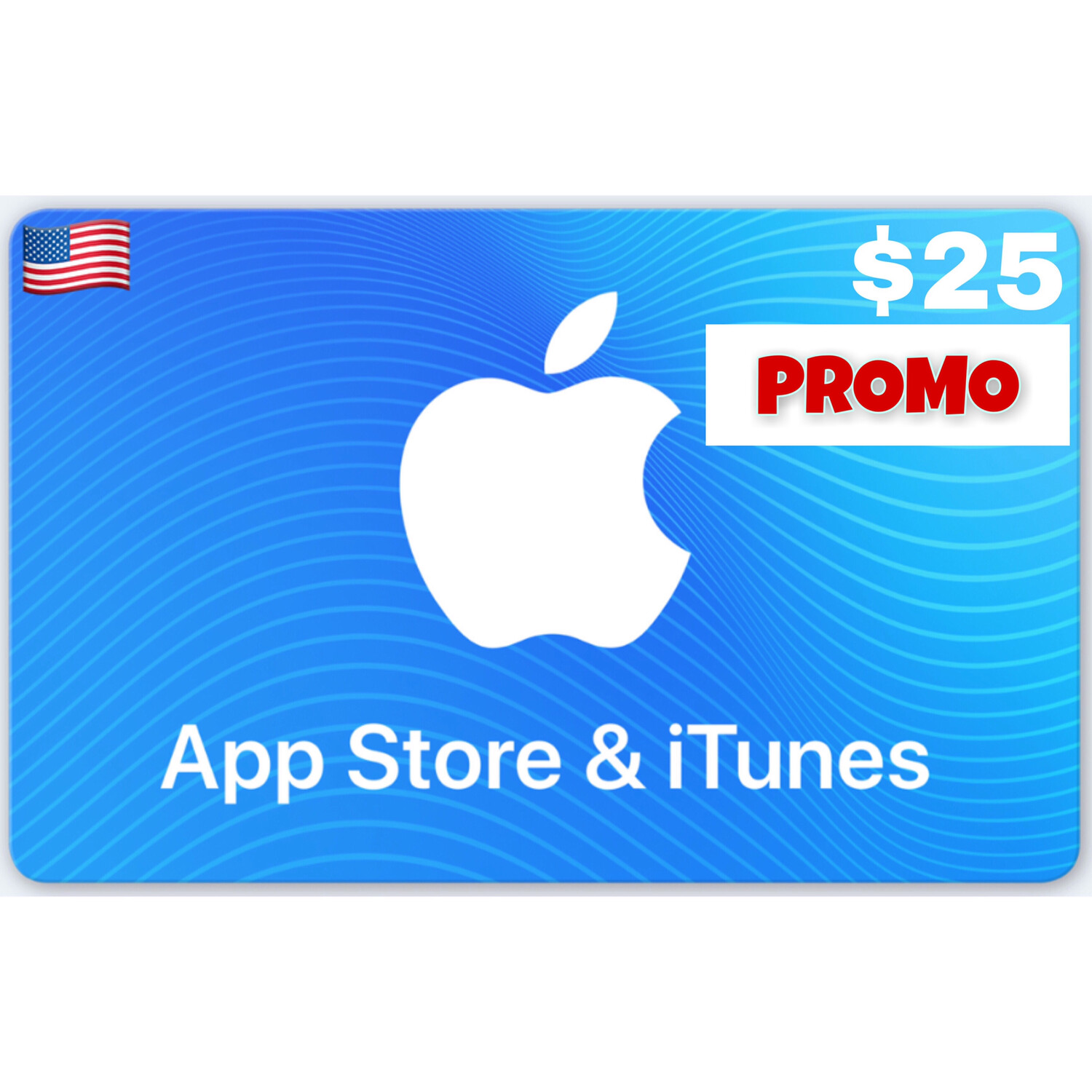 PROMO Apple iTunes Gift Card US $25 (Web Order Only)
