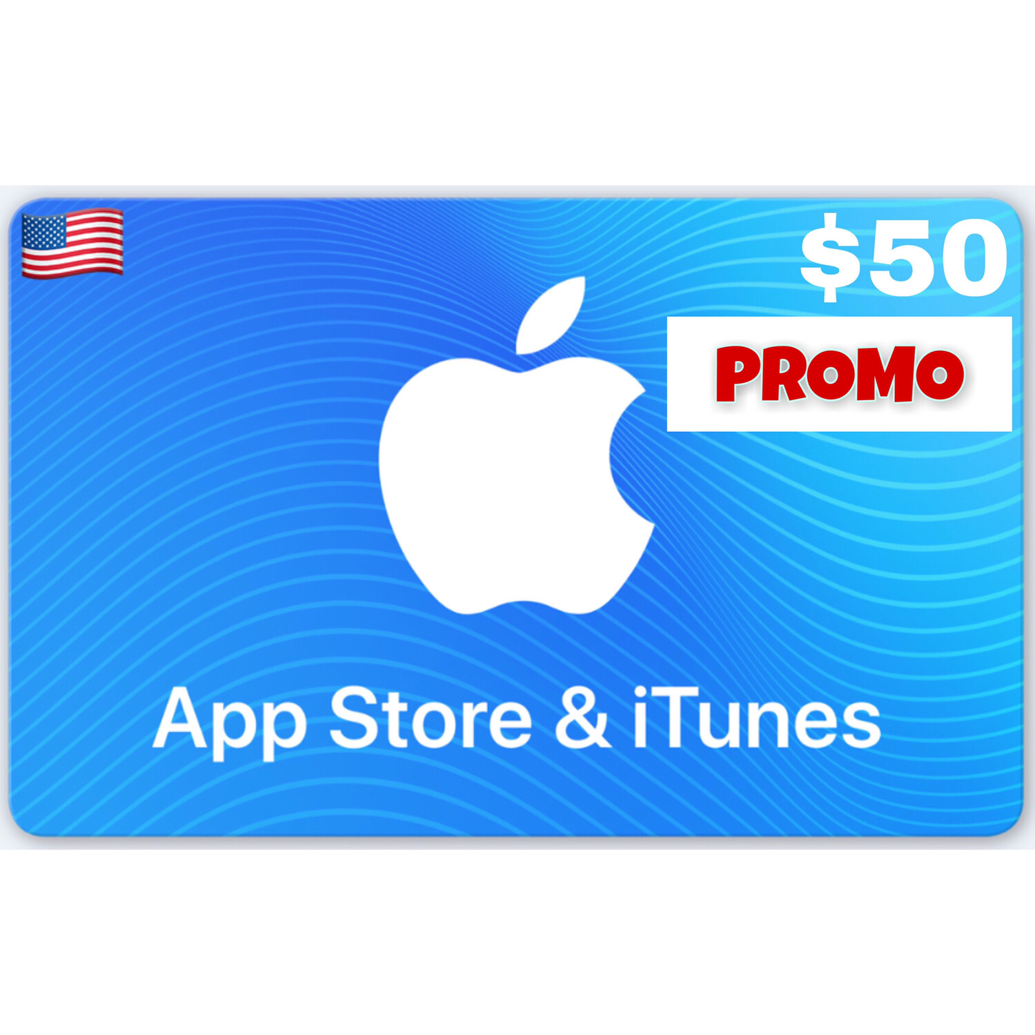 PROMO Apple iTunes Gift Card US $50 (Web Order Only)