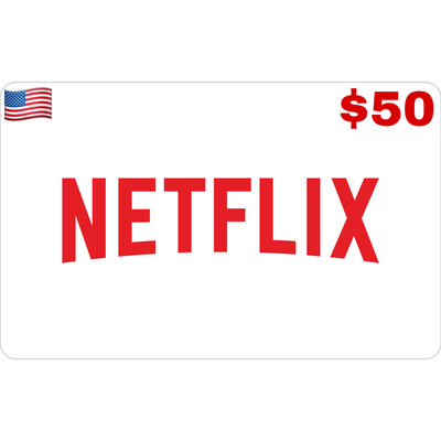 Netflix Gift Card US USD $50