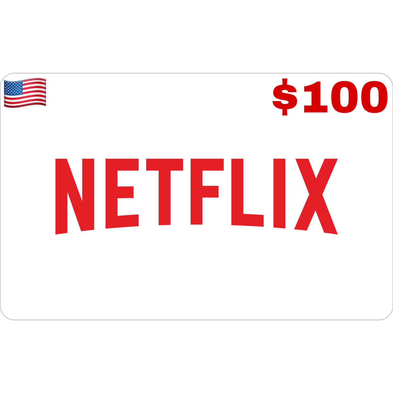 Netflix Gift Card US $100