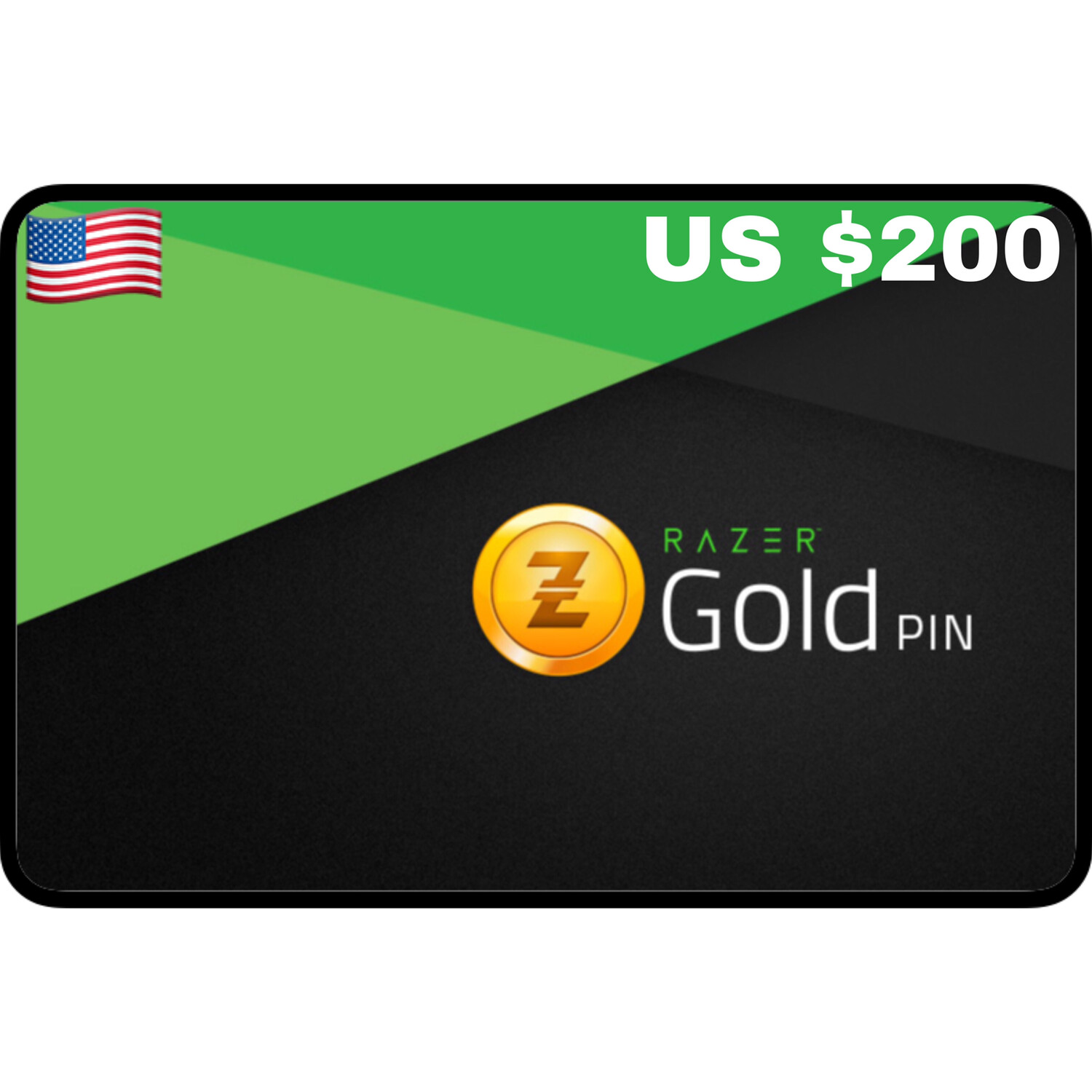 Razer Gold Pin US $200