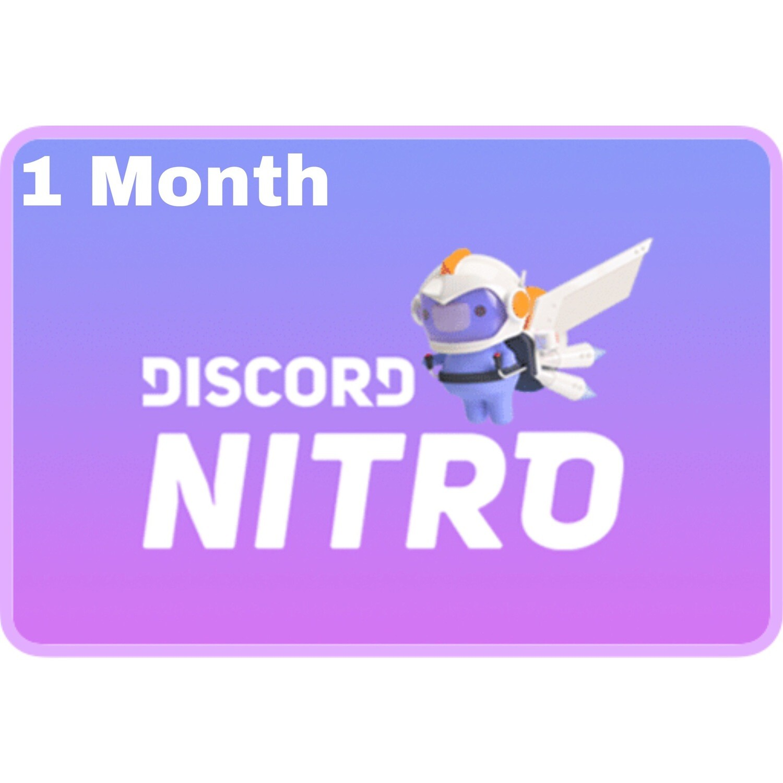 Discord Nitro 1 Month Gift
