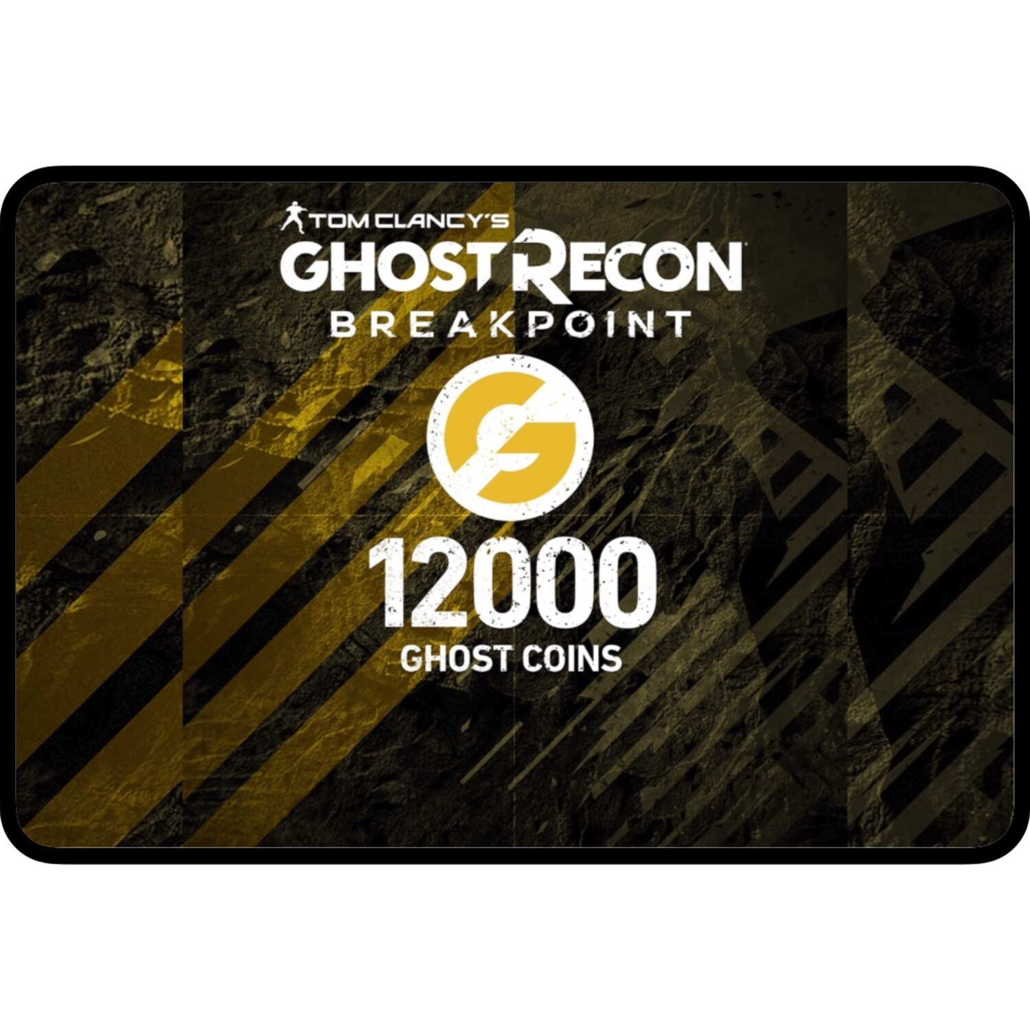 Tom Clancy's: Ghost Recon Breakpoint: 12000 Ghost Coins for PS4