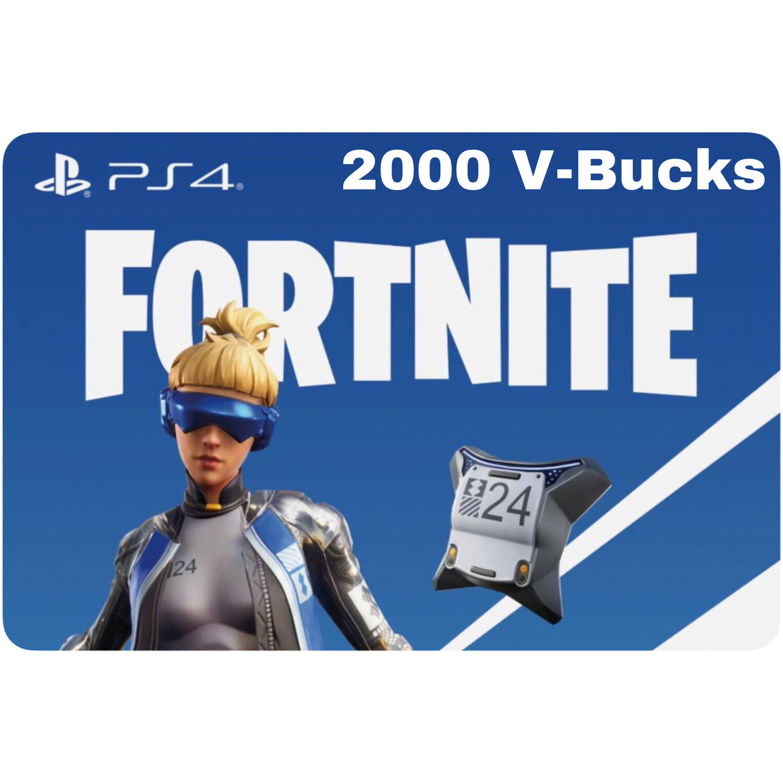 Fortnite Neo Versa 2000 VBucks for PS4 only