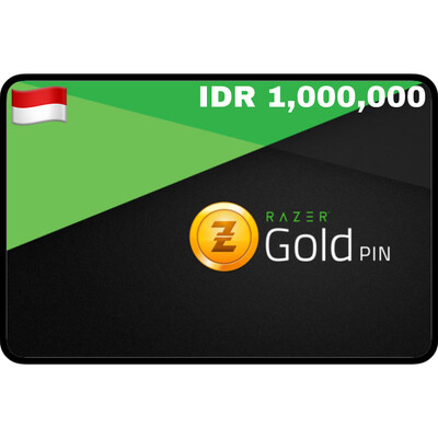Razer Gold Pin IDR 1,000,000 Indonesia