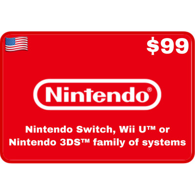 Nintendo eShop US USD $99