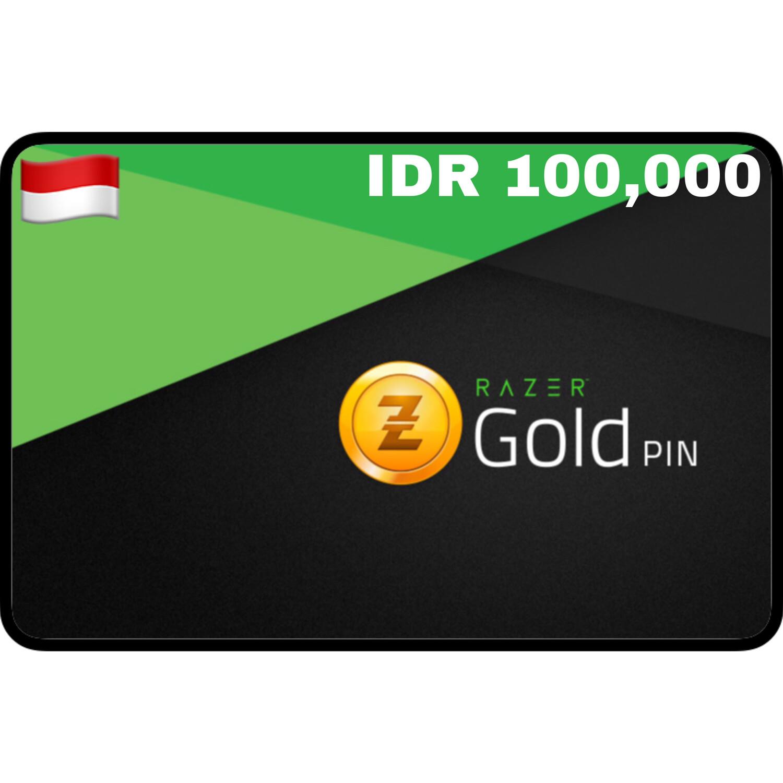Razer Gold Pin IDR 100,000 Indonesia