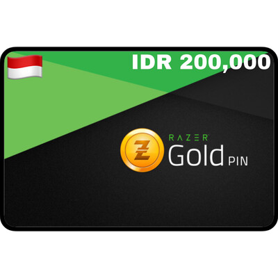 Razer Gold Pin IDR 200,000 Indonesia