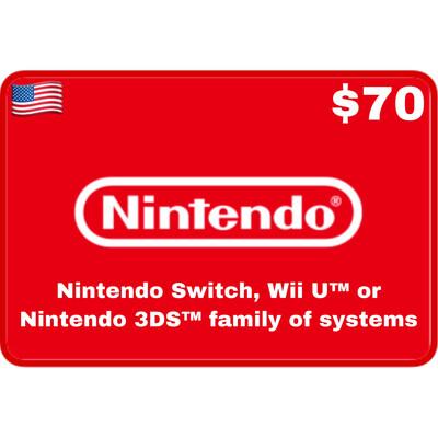 Nintendo eShop US USD $70