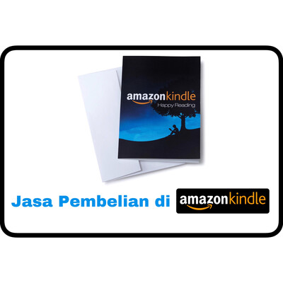 Jasa Amazon.com Pembayaran di Amazon Kindle Store
