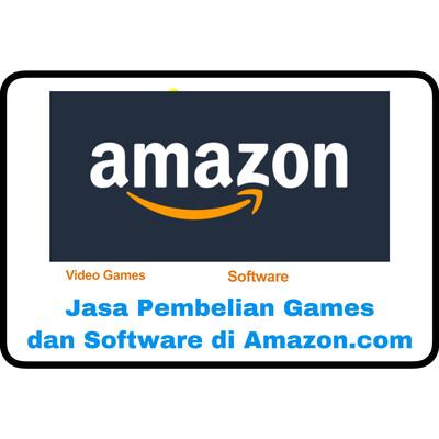 Jasa Amazon.com Pembelian Games & Software di Amazon