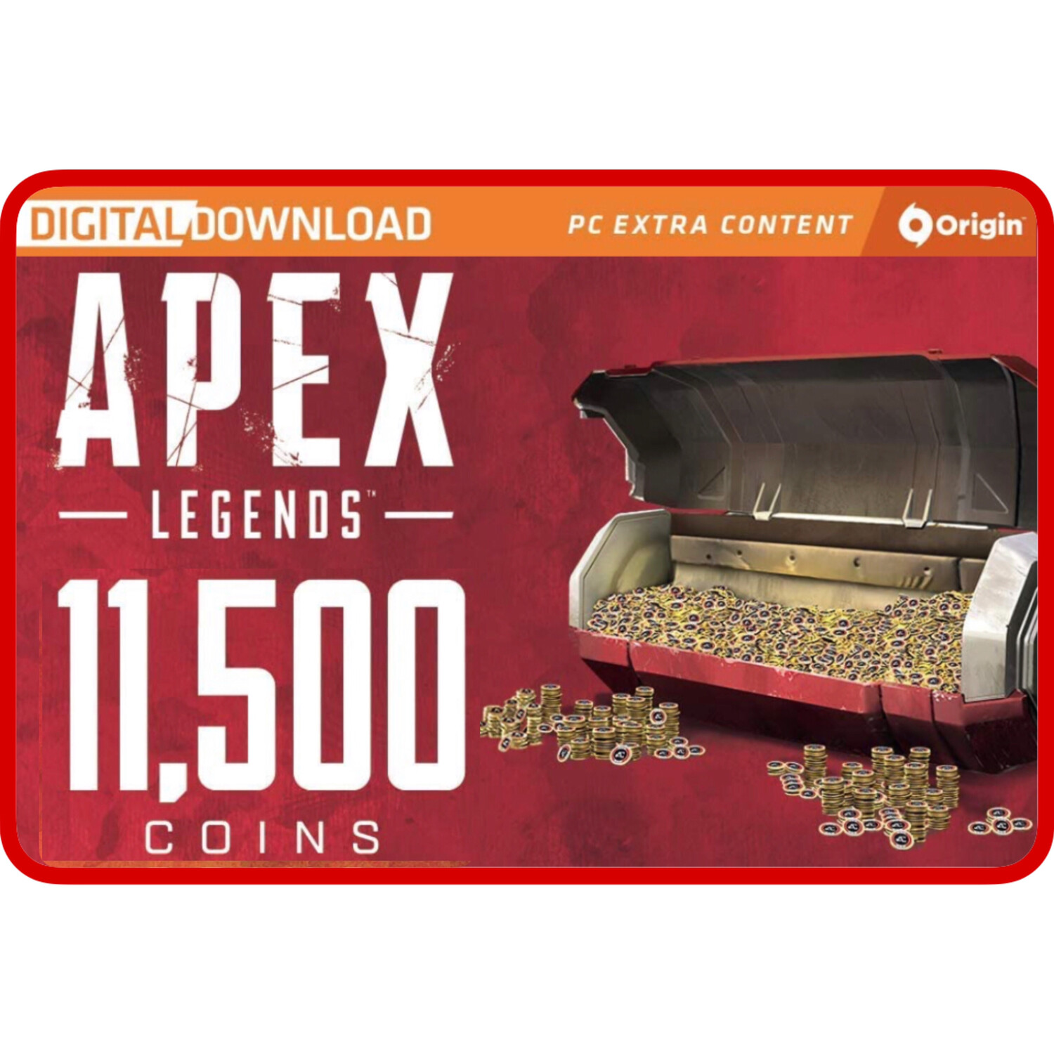 Apex Legends 11500 Apex Coins Origins for PC