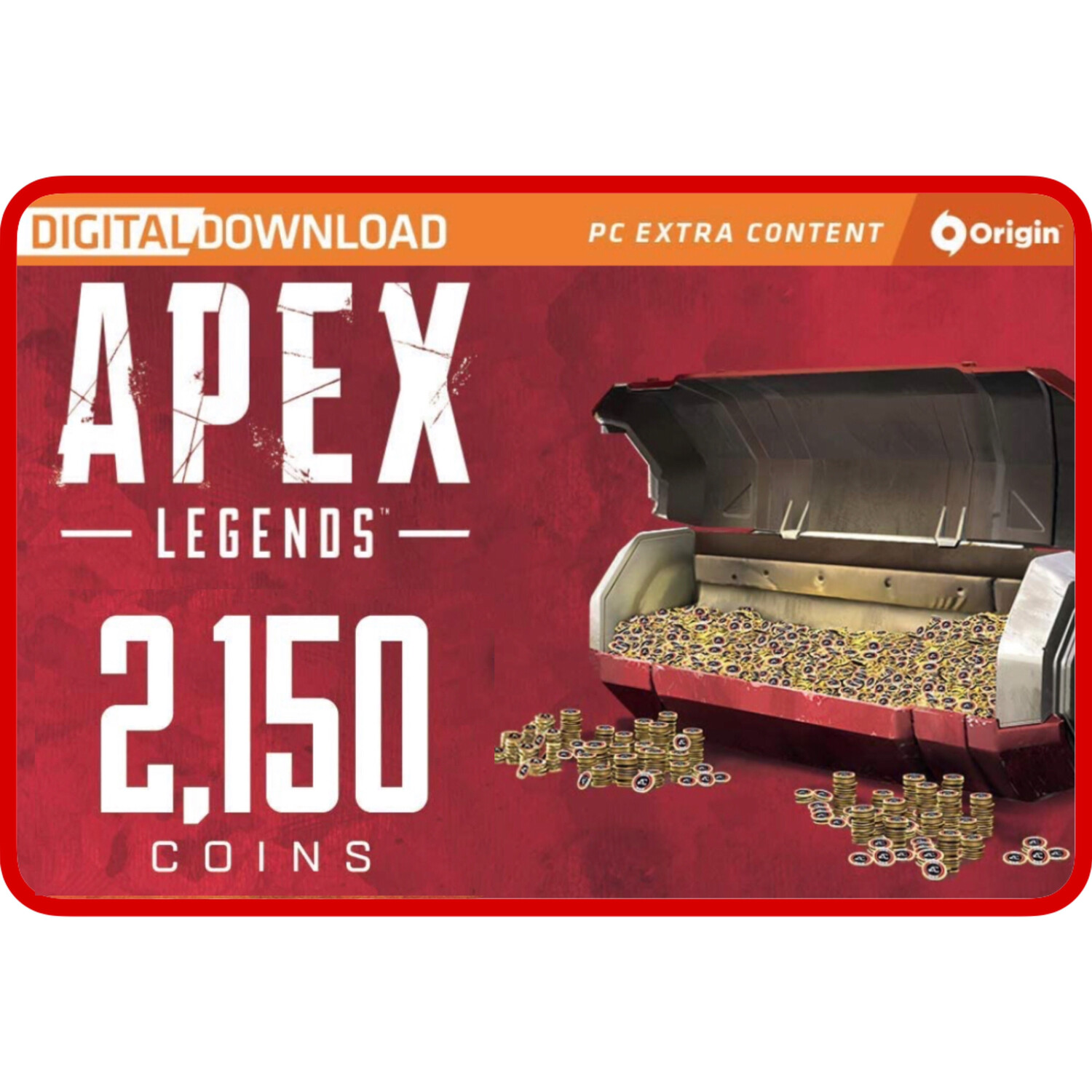 Apex Legends 2150 Apex Coins Origins for PC