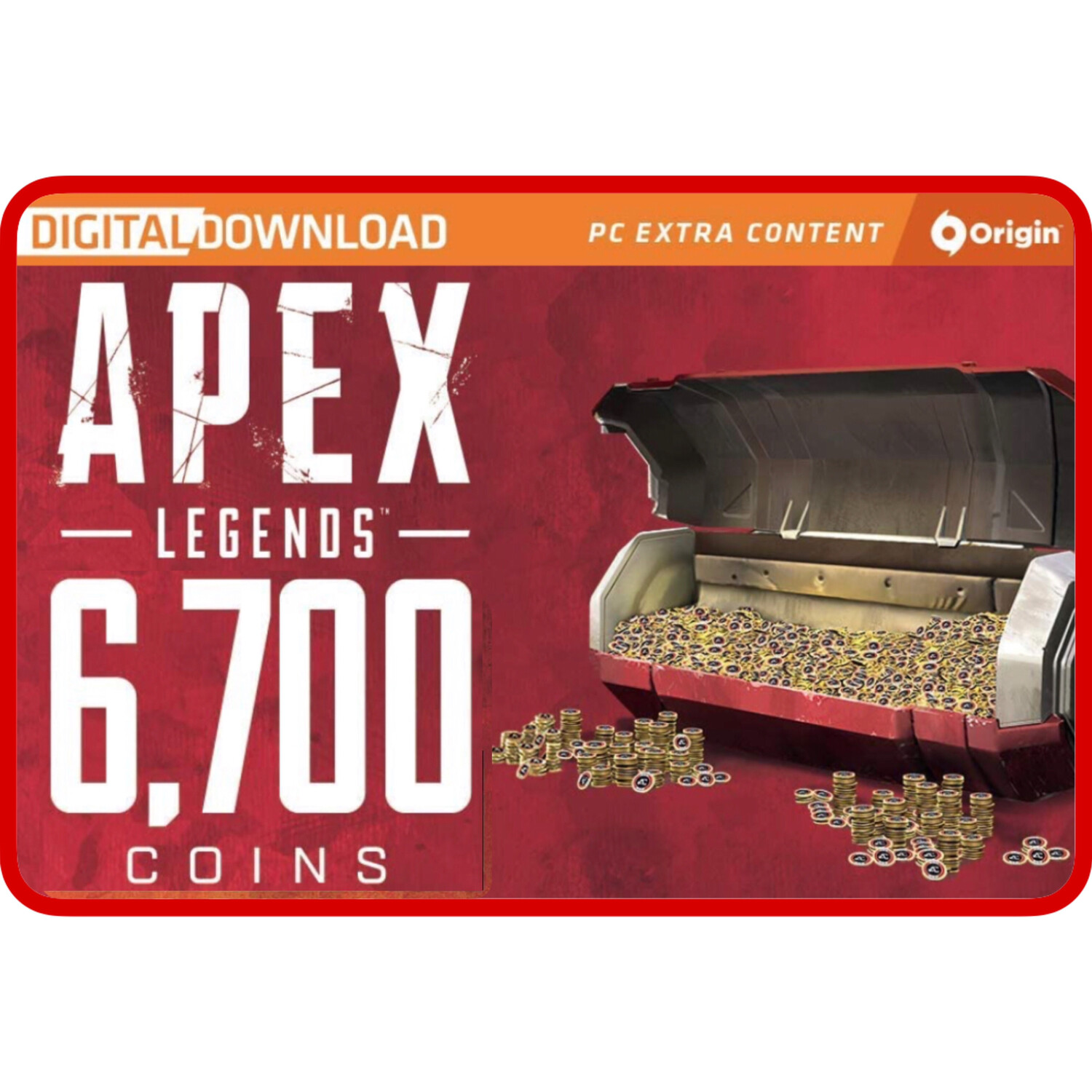 Apex Legends 6700 Apex Coins Origins for PC