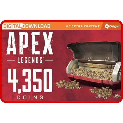 Apex Legends 4350 Apex Coins Origins for PC