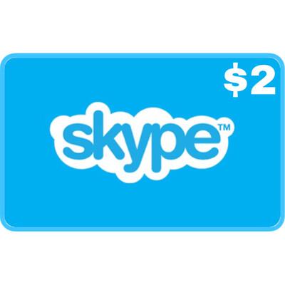 Skype Credit Gift $2