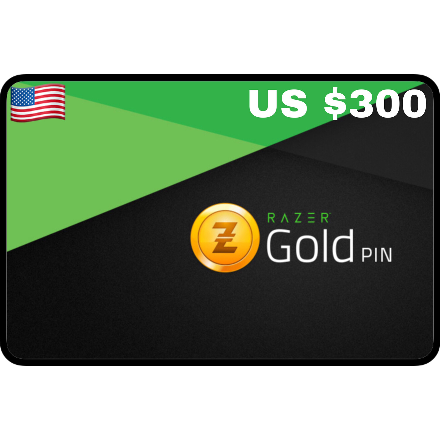 Razer Gold Pin US $300
